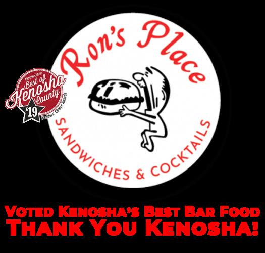 bar food in kenosha, ron's place in kenosha, ron's place bar food