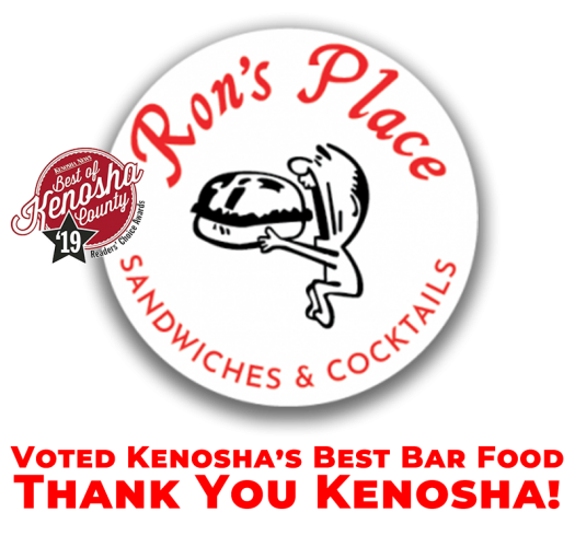 best bar food kenosha, rons place, rons bar food kenosha