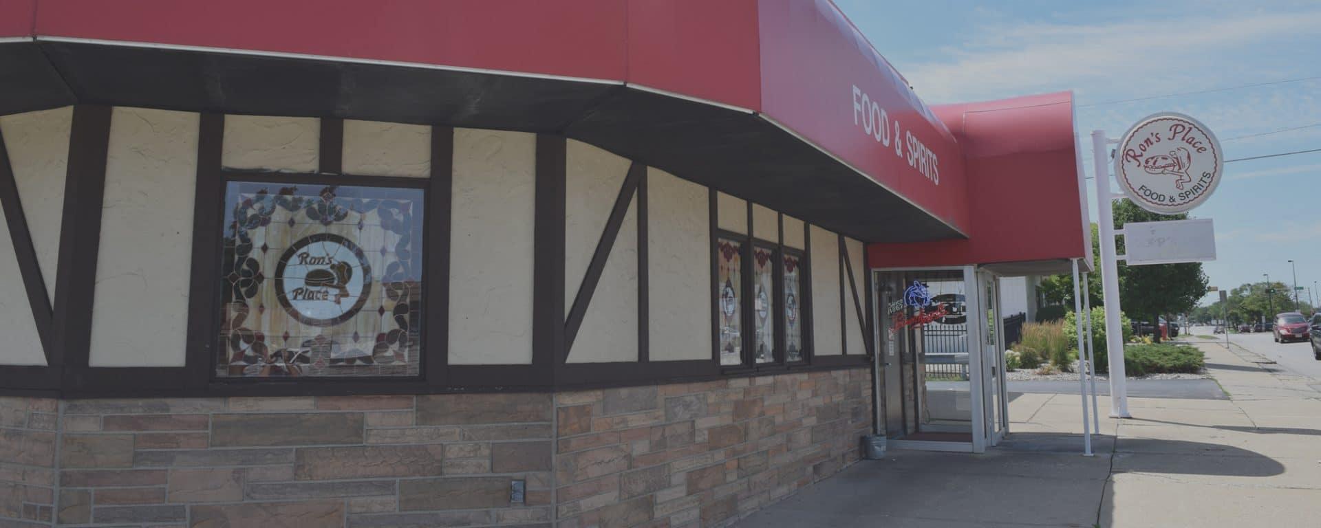 rons place kenosha, best burger kenosha, bar & grill kenosha