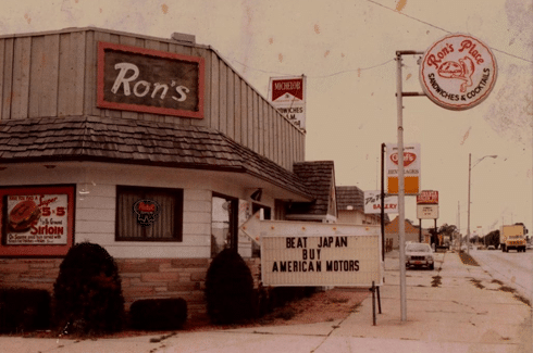 rons place kenosha, best burger kenosha, best long island kenosha